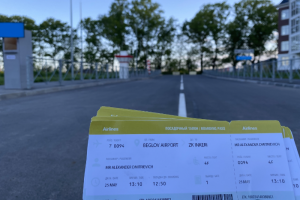 Жители Пушкина создали «аэропорт имени Беглова». Из-за отсутствия дороги они с трудом выбираются из ЖК и живут словно на острове
