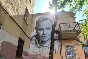 В Петербурге сотрудники коммунальных служб закрасят стрит-арт с Китом Флинтом