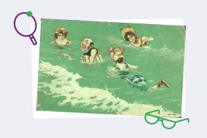 Хотите узнать, что вас ждет этим летом? Сыграйте в нашу игру и получите предсказание на дореволюционной открытке 🔮
