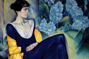 В Музее Анны Ахматовой открыли выставку Натана Альтмана. На ней можно увидеть портрет Ахматовой, афиши из «Бродячей собаки» и другие работы художника