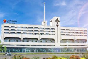В здании Морвокзала у «Севкабель Порта» откроют отель Azimut, а территорию вокруг благоустроят. Вот подробности проекта и первые визуализации