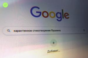 В пандемию петербуржцы чаще искали фейки о «карантинном» стихотворении Пушкина, а казанцы — о наночервях в масках. «Яндекс» выпустил исследование об инфодемии
