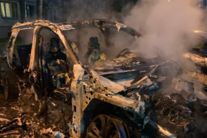 Петербургский активист Александр Виноградов рассказал, что ему подожгли машину. Он связывает это с борьбой с незаконной торговлей. Обновлено