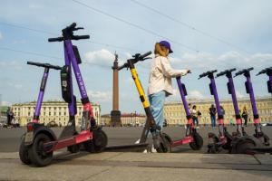 Власти Петербурга запретят электросамокатам ездить по Невскому и Дворцовой. Показываем карту ограничений