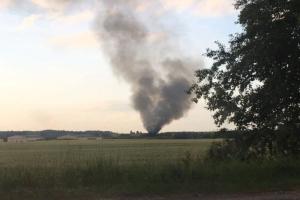 В Гатчинском районе Ленобласти упал вертолет Росгвардии. По предварительным данным, погибли трое военнослужащих. Обновлено