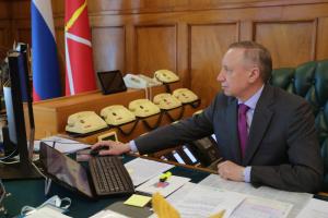 Беглов ответит на вопросы петербуржцев в прямом эфире. Смольный анонсировал новый формат программы с губернатором