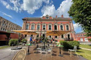Во дворе особняка Мясникова на улице Восстания откроют летний двор Giardino от команды Salone pasta&bar
