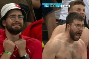В Петербург приехал швейцарский болельщик Лука Лутенбах, фото которого стали мемами после внезапной победы его сборной