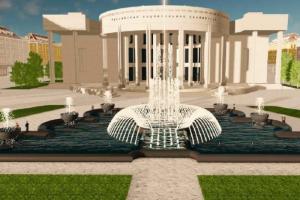 Власти Петербурга пообещали реконструировать фонтан у РНБ. Ранее они заявляли о создании рядом зон отдыха