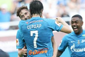 «Зенит» обыграл «Локомотив» в матче за Суперкубок России  🏆