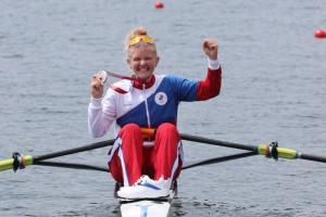 Петербурженка Анна Пракатень завоевала серебро в одиночной гребле. В этой дисциплине у россиян не было олимпийских медалей более 40 лет