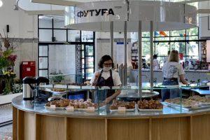 На Василеостровском рынке открыли корнер с выпечкой от «Футуры» 🥐