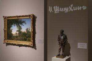 В корпусе Бенуа открыли ретроспективную выставку Ивана Шишкина с живописью, графикой, гравюрами. Как устроена экспозиция и почему она раскрывает художника с новой стороны