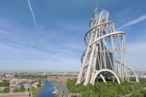 Посмотрите на Петербург, где построили башню Татлина и где сохранился Исаакиевский собор Ринальди. Экскурсоводы запустили прогулку с VR