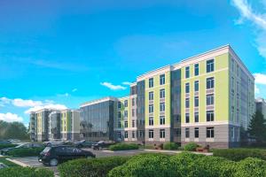 Компания «КВС» вывела в продажу малоэтажный квартал «Гармония». Можно купить квартиру с высокими потолками, кладовой и чистовой отделкой