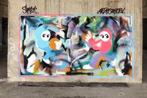 В Петербурге много уличного искусства, но как и где его искать? Рассказывает медиатор стрит-арт-прогулок