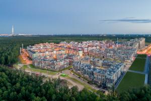 Жилой комплекс «Юнтолово» получил спецприз за экологичность в градостроительном конкурсе