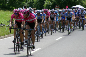 В Петербурге начинаются соревнования по велоспорту. На некоторых улицах введут ограничения