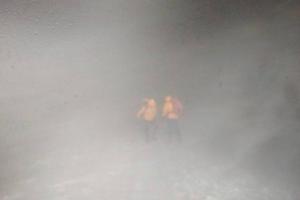 Группа альпинистов запросила помощь на Эльбрусе на высоте5400 метров