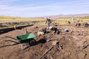Петербургские археологи нашли геоглиф в виде быка в Тыве. Рассказываем, что это и почему находку называют уникальной