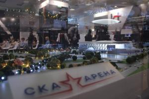 «СКА Арена» показала 3D-проект ледового стадиона, который возведут на месте обрушенного СКК