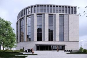 Что известно о реконструкции «Фрунзенской». Ее обсуждают больше 6 лет — текущий проект предлагает высокое здание в форме подковы и еще 4 года работ