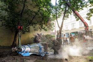 Коломенскую Венеру вернут в Дровяной переулок до конца осени. Жители собрали необходимые для реставрации 300 тысяч рублей