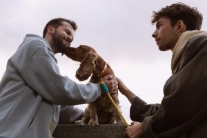 «Питомцам безразлична ориентация хозяев»: петербургский бренд поводков и ошейников для собак снял в рекламе однополые пары