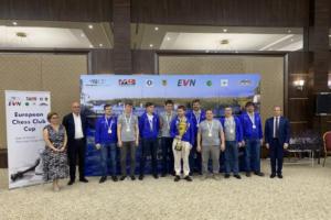 Петербургский шахматный клуб «Медный всадник» в третий раз выиграл Кубок Европы