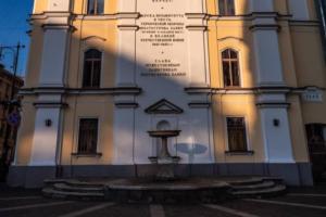 На улице Пестеля восстановят фонтан и мемориальную стену в память обороны полуострова Ханко