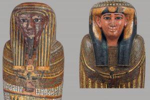 В Зимнем дворце открыли две выставки из серии «Египет в Эрмитаже». Одна из них расскажет о мумии, которую ошибочно считали женской