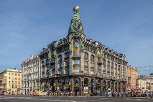 «Дом книги» может съехать из дома Зингера на Невском проспекте. Книжный магазин выселяет собственник, пишет «РБК»