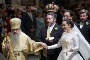 Как прошло венчание потомка династии Романовых в Исаакиевском соборе. Три фото