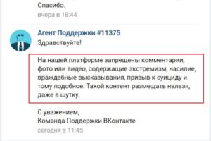 «ВКонтакте» удалила комментарий пользователя с цитатой из песни Оксимирона, сославшись на экстремизм. В компании заявили, что ошиблись