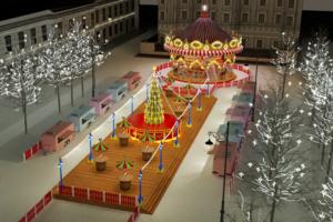 Какой будет рождественская ярмарка на Манежной? Торт с мышами за 4 миллиона, зона с «едальнями» и две ели