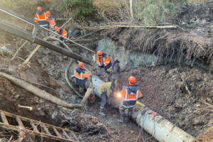 «Водоканал» отчитался об устранении аварии и начале подачи воды в Курортном районе. Часть местных жителей сообщает, что воды в домах всё еще нет