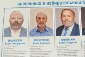 «Чтобы показать, что есть другие Вишневские, которые не только критикуют»: один из «двойников» Вишневского рассказал, зачем сменил имя перед выборами