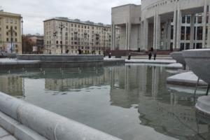 На площади перед РНБ реконструировали фонтан. Показываем, как он изменился ⛲