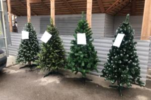 В Петербурге появились новогодние елки. Да-да, в октябре 🎄