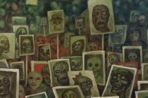 Петербургский художник написал картину «Живые и мертвые». Глава СК Александр Бастрыкин поручил проверить, не оскорбляет ли она погибших на войне
