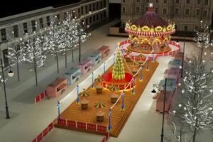 На новогоднее оформление Петербурга и Рождественскую ярмарку потратят около 230 миллионов рублей — меньше, чем в прошлом году