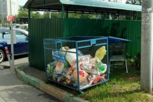 В Калининском районе появится 3 тысячи контейнеров для раздельного сбора мусора. Их установят в 2022 году