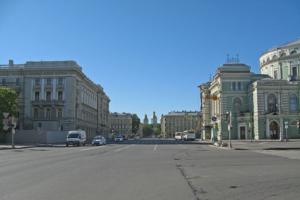 В Петербурге окончательно отказались от идеи строительства выхода из станции метро на Театральную площадь