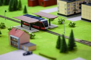 В Петербурге презентовали беспилотный трамвай. Показываем, как он выглядит 👀